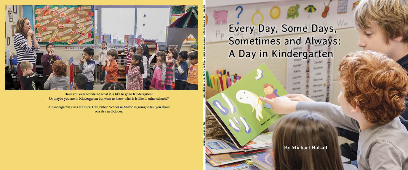 Cover Image of the book Sometimes and Always, A Day in Kindergarten.
