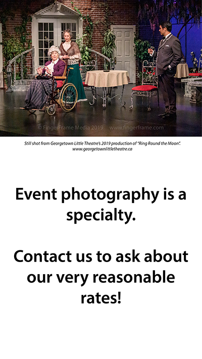 Event photography is a specialty.