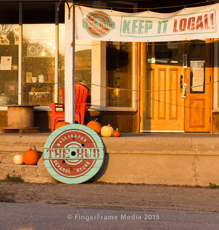 Image of a sign at a country store - Keep It Local